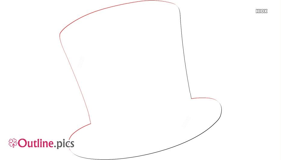 Top Hat Design Free Clip Art Outline