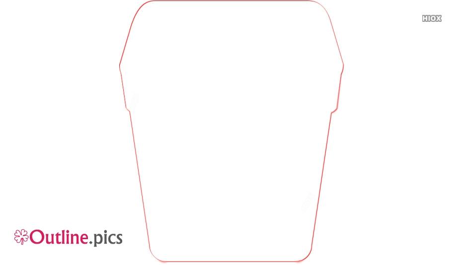 Trash Clip Art Outline Image