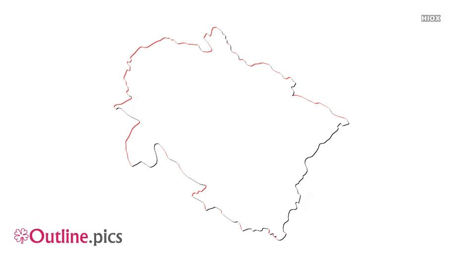 Uttarakhand Outline Map Images