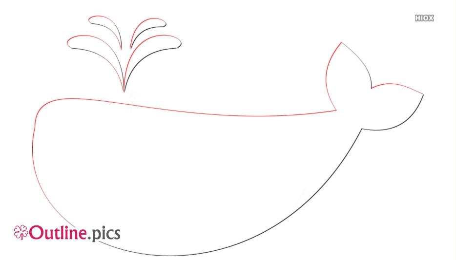 Whale Clip Art Cartoon Clipart Outline