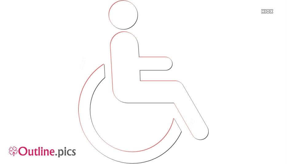 Wheelchair Symbol Outline
